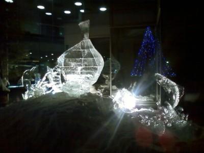 芦別スターライトホテル 氷像